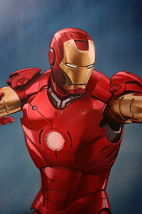320x480 Iron Man 2020 Attack