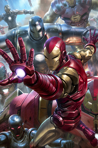 320x480 Iron Man 2020art