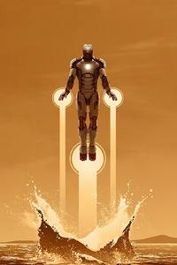 2160x3840 Iron Man 3 Arts
