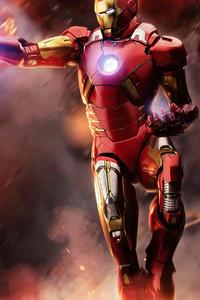 240x320 Iron Man 4k 2019
