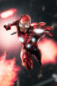 320x568 Iron Man 4k 2020 Art