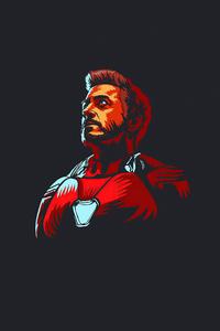 360x640 Iron Man 4k 2020 Minimalism