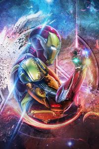 240x320 Iron Man 4k Avengers Endgame