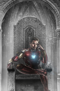 320x568 Iron Man 4k Avengers