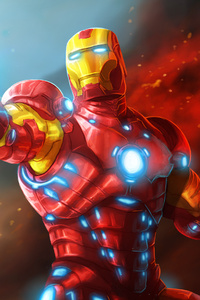 240x320 Iron Man 4k New Art