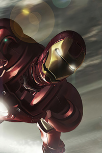 800x1280 Iron Man 4k New Coming