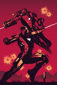 Iron Man 4k Poster Art