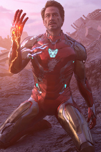 1080x2280 Iron Man 4kart