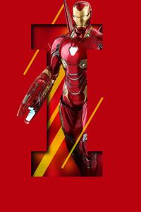 Iron Man 5k Art