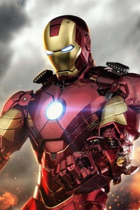 Iron Man 5k Digital Artwork