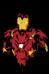 Iron Man 8k Minimal