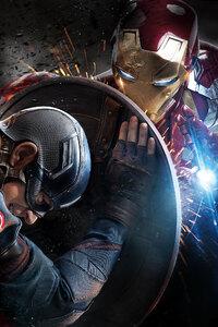 720x1280 Iron Man 8k