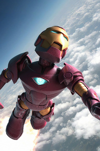 540x960 Iron Man Above Clouds