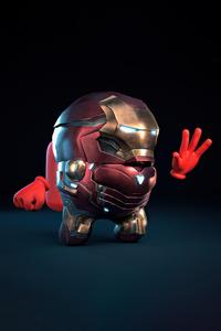 720x1280 Iron Man Among Us 5k