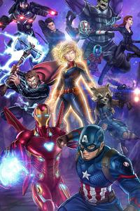 Iron Man And Captain America Art