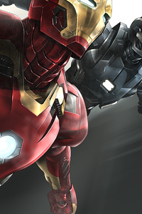 Iron Man And War Machine 4k 2020