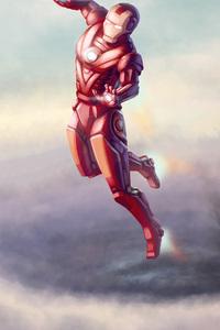 Iron Man And War Machine Artwork