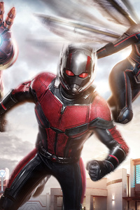 640x960 Iron Man Ant Man Wasp 4k