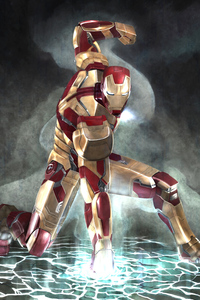 Iron Man Arts 4k