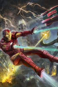 Iron Man Artwork 5k 2018