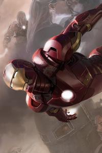 1080x2160 Iron Man Avengers 4k