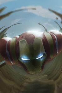 Iron Man Avengers Art 4k