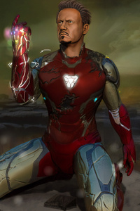 Iron Man Avengers Art