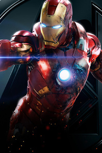 Iron Man Avengers Artwork