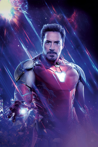 750x1334 Iron Man Avengers End Game 8k
