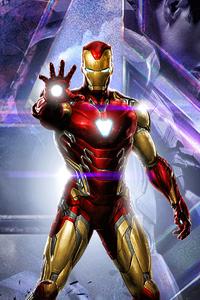 Iron Man Avengers Endgame 2020