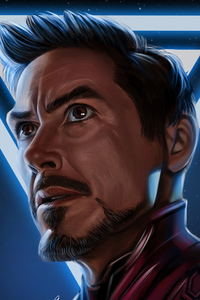 Iron Man Avengers Endgame Digital Art