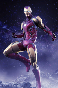 Iron Man Avengers Endgame Suit 4k