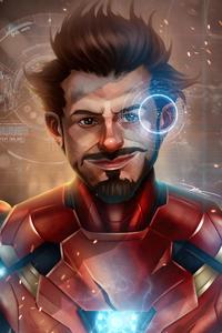 1280x2120 Iron Man Avengers Fan Art