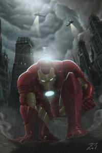 Iron Man Avengers I Am Back 4k
