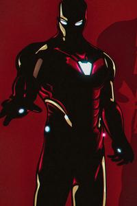 360x640 Iron Man Avengers Minimal 5k