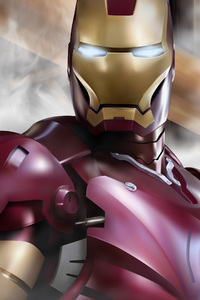 Iron Man Behance Art