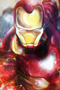 480x854 Iron Man Big Hero