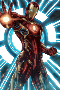 800x1280 Iron Man Blaster New