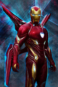 320x568 Iron Man Bleeding Edge Armor