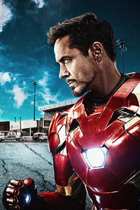 540x960 Iron Man Captain America Civil War 8k