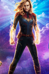 1080x2280 Iron Man Captain Marvel Captain America
