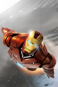 1080x2160 Iron Man Chittori Army