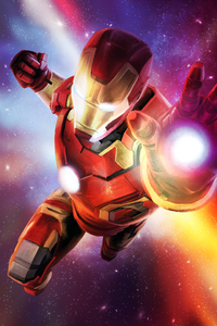 Iron Man Colorful Art