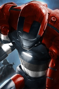 Iron Man Comic Art 5k