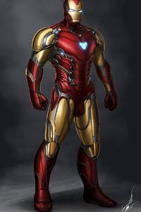 2160x3840 Iron Man Concept Art 4k