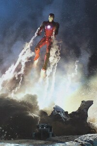 640x960 Iron Man Concept Art Marvel
