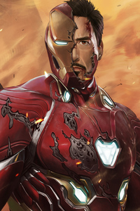 Iron Man Damage Suit