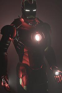 Iron Man Dark 4k