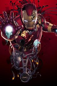 1280x2120 Iron Man Digital Arts New