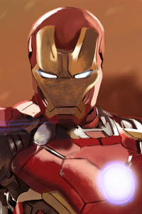 Iron Man Digital Artwork